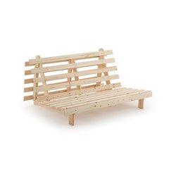 Καναπές-κρεβάτι futon από μασίφ ξύλο, Khyo