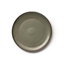 Εμαγιέ κεραμικά πιάτα του γλυκού Akira (σετ των 4)