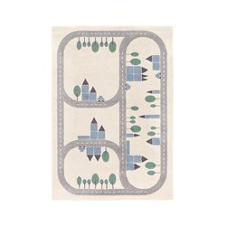 Παιδικό χαλί με μοτίβο διαδρομή Korting