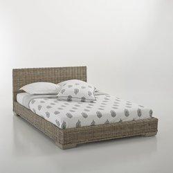 Κρεβάτι από γνήσιο ρατάν, Derry