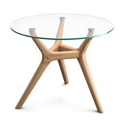 Τραπέζι βοηθητικό από ξύλο βελανιδιάς, Maricielo