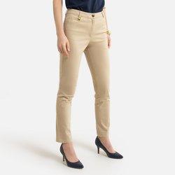 Ίσιο βαμβακερό στρετς παντελόνι