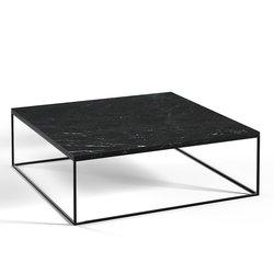 Μαρμάρινο Τραπέζι Σε Μαύρο Χρώμα Mahaut