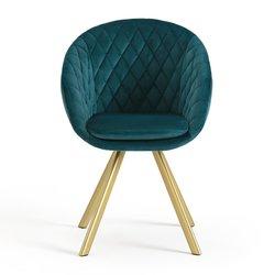 Vintage Βελούδινη Πολυθρόνα LUXORE