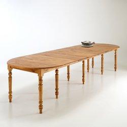 Επεκτεινόμενο στρογγυλό τραπέζι 4-16 ατόμων Authentic Style