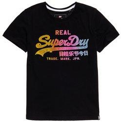 T-shirt με στάμπα μπροστά Vintage Logo Spectrum
