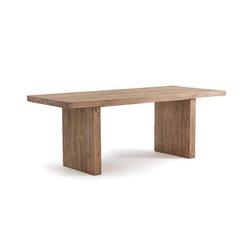 Ορθογώνιο τραπέζι από μασίφ πεύκο 6-8 ατόμων MALU