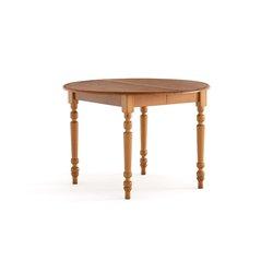 Επεκτεινόμενο στρογγυλό τραπέζι από μασίφ πεύκο 4-8 ατόμων AUTHENTIC STYLE
