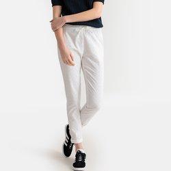Σιγκαρέτ παντελόνι με κοφτό κέντημα