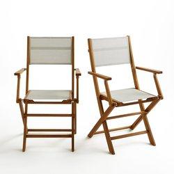 Αναδιπλώμενες ξύλινες καρέκλες κήπου από ευκάλυπτο