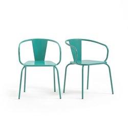 Κρεμαστή μεταλλική καρέκλα κήπου (σετ των 2)
