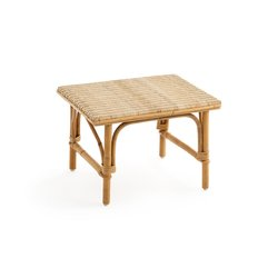 Nantucket μακρόστενη καρέκλα λυγαριάς και υποπόδιο