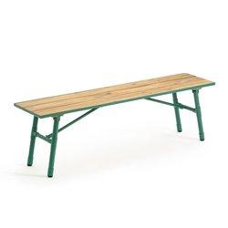Sohan ξύλινο και μεταλλικό πτυσσόμενος παγκος από ακακία