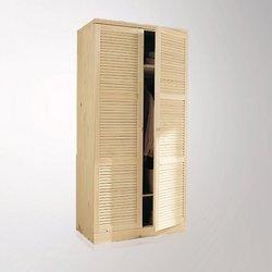 Mayor δίφυλλη ντουλάπα από μασίφ ξύλο πεύκου