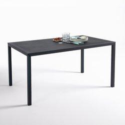 Choe διάτρητο επίμηκες μεταλλικό τραπέζι