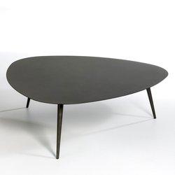 Μακρύ μεταλλικό τραπέζι καφέ,THEOLEINE