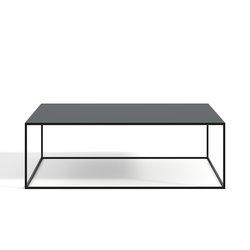 Τετράγωνο μεταλλικό τραπέζι σαλονιού, Romy