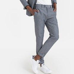 Παντελόνι κοστουμιού με ρίγες