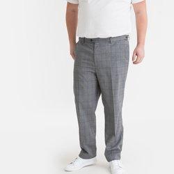Καρό παντελόνι chino για μεγάλα μεγέθη