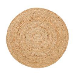 Στρογγυλό χαλάκι από γιούτα με διάμετρο 100 εκ, Aftas