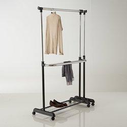 Διπλή κρεμάστρα για ρούχα με δυνατότητα επέκτασης