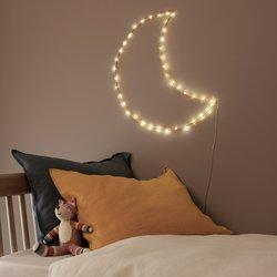 Φωτιστικό σχήμα φεγγαριού LED Omara