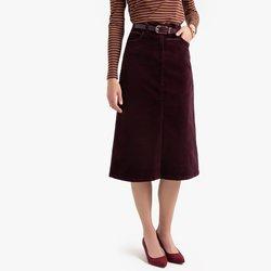 Ίσια Κοτλέ φούστα