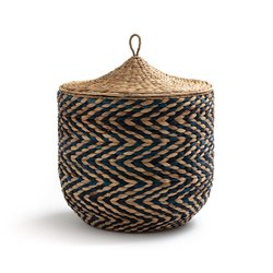 Υφαντό καλάθι με καπάκι Nomado