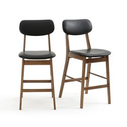 Καρέκλα μπαρ, ημίψηλο, WATFORD (σετ των2)