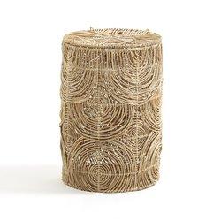 Καλάθι για άπλυτα Υ60 εκ. από άμπακα, Orphee