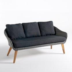Τριθέσιος καναπές κήπου, GRIGIO