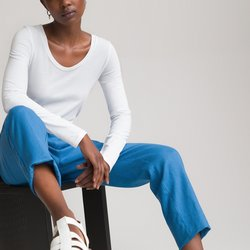 Μακρυμάνικη μπλούζα από βιολογικό βαμβάκι