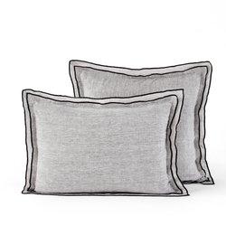 Μαξιλαροθήκη από λινό σαμπρέ ύφασμα, Aladani