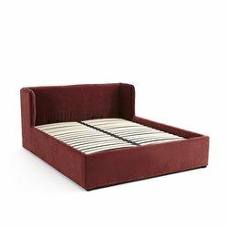 Κρεβάτι με αποθηκευτικό χώρο ντυμένο με βελούδο, Robwig