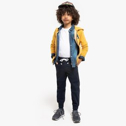 Ίσιο παντελόνι με λάστιχο στους αστραγάλους, 3-14 ετών