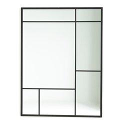 Μεταλλικός καθρέφτης βιομηχανικού στυλ, Lenaig