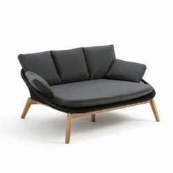 Καναπές-κρεβάτι κήπου από πλεγμένο κορδόνι, Joemie