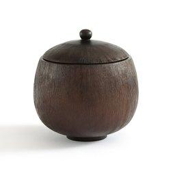 Κουτί από καμένο ξύλο μάνγκο Υ20 εκ., Oxymel