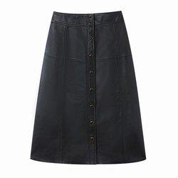 Δερμάτινη μίντι φούστα